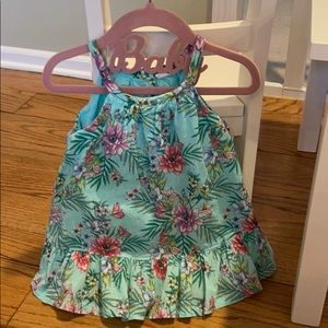 Floral Print Baby Gap Dress 12-18 months